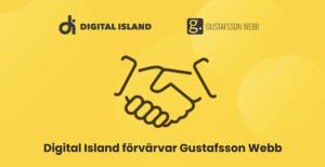 Digital Island förvärvar Gustafsson Webb